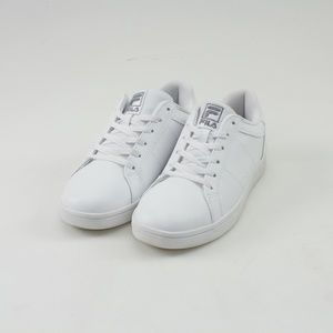 Fila White Faux Leather Campora Sneakers // Size 9